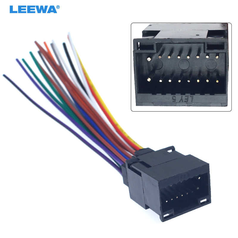 LEEWA Car Radio Stereo Wire Harness Plug Cable For Kenwood ... on kenwood to ford wiring harness, kenwood 16 pin wiring harness, kenwood excelon wiring harness, kenwood stereo wire color codes, kenwood wiring-diagram, kenwood stereo consoles by truck, kenwood radios kdc 215s, kenwood kgc 6042a wire harness, kenwood radios law enforcement, kenwood stereo harness, kenwood radio remote control, kenwood radio diagram, kenwood kdc 138 wire colors, kenwood kdc wiring harness, kenwood wiring colors, kenwood model kdc install wiring,