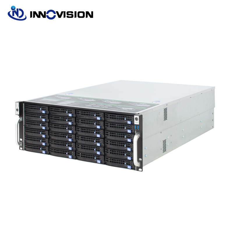 Stable Huge Storage 36bays 4u Hotswap Rack NVR NAS Server Chassis R46536