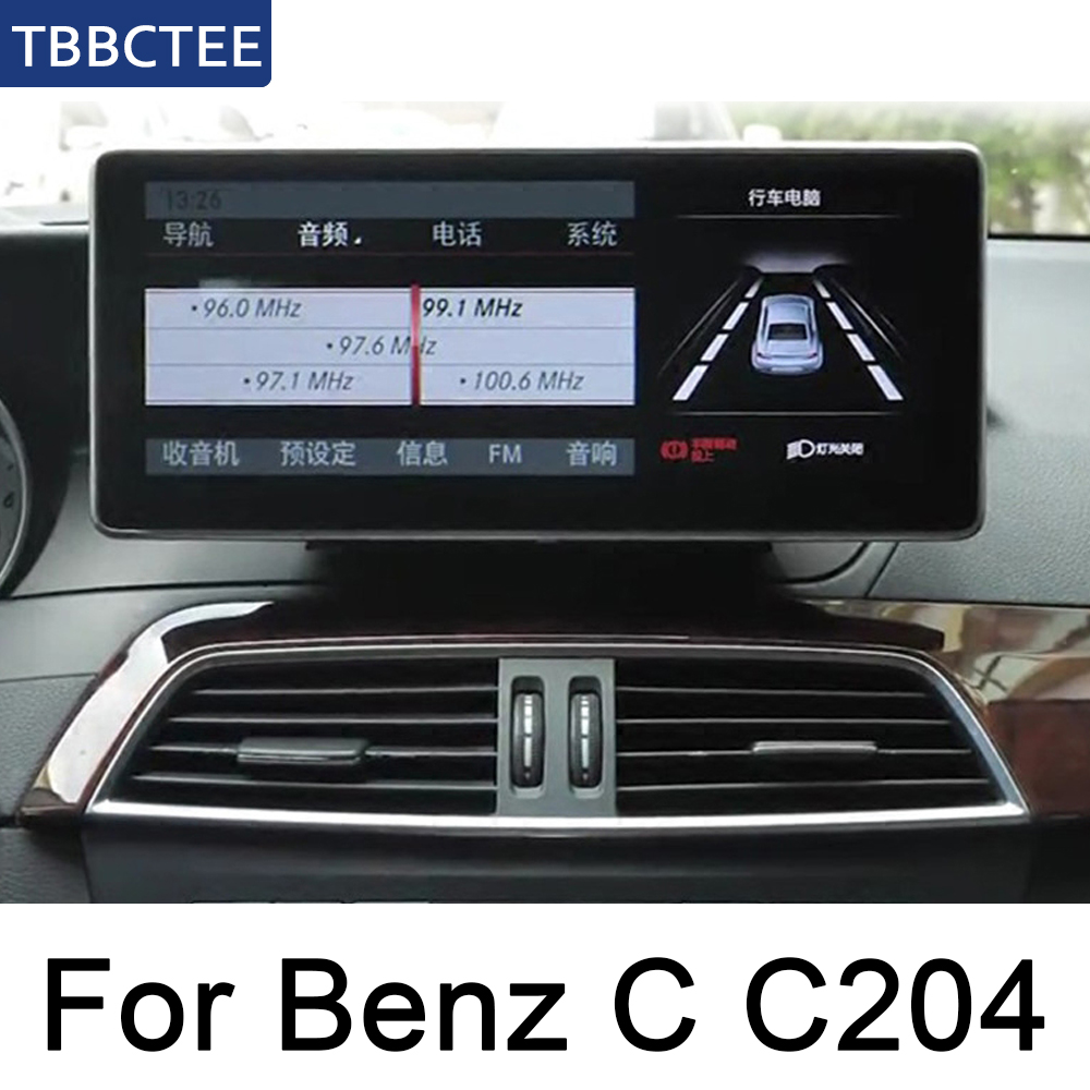 Worldwide delivery mercedes benz w204 android radio in