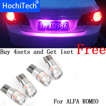 1pc safe T10 light 194 W5W LED license plate lights LED Lamp For ALFA ROMEO 145 146 147 155 156 GT 159 166 Brera GTV Spider MITO image