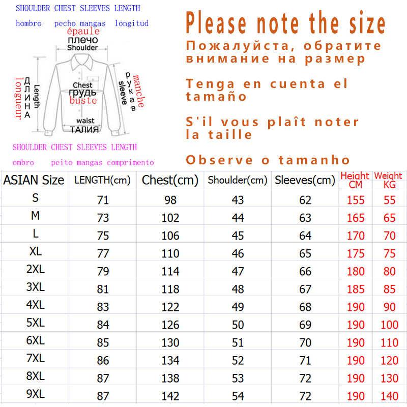 新しい 2020 春秋のメンズデザインの服カジュアルルースストリートボンジャケットプラス特大M-6XL 7XL 8XL 9XL