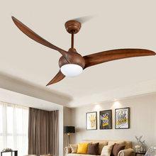 52 дюймов промышленный деревянный потолочный вентилятор с светильник