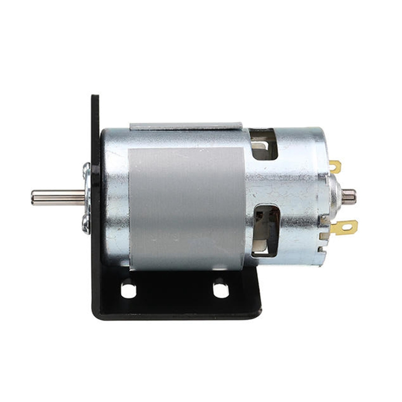 New 775 Motor With Mounting Bracket Dc 12V 10000Rpm Motor Double Ball Bearings 150W
