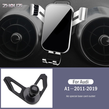 Car Mobile Phone Holder Special Air Vent Mounts Stand GPS Gravity Navigation Bracket For Audi A1 2011-2019 Car Accessories