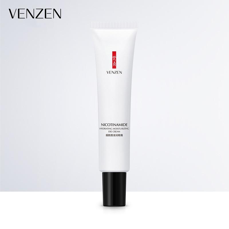 VENZEN Moisturizing Eye Cream Niacinamide Hyaluronic Acid Essence Cream Remover Dark Circles Eye Delight Boost Serum TSLM1