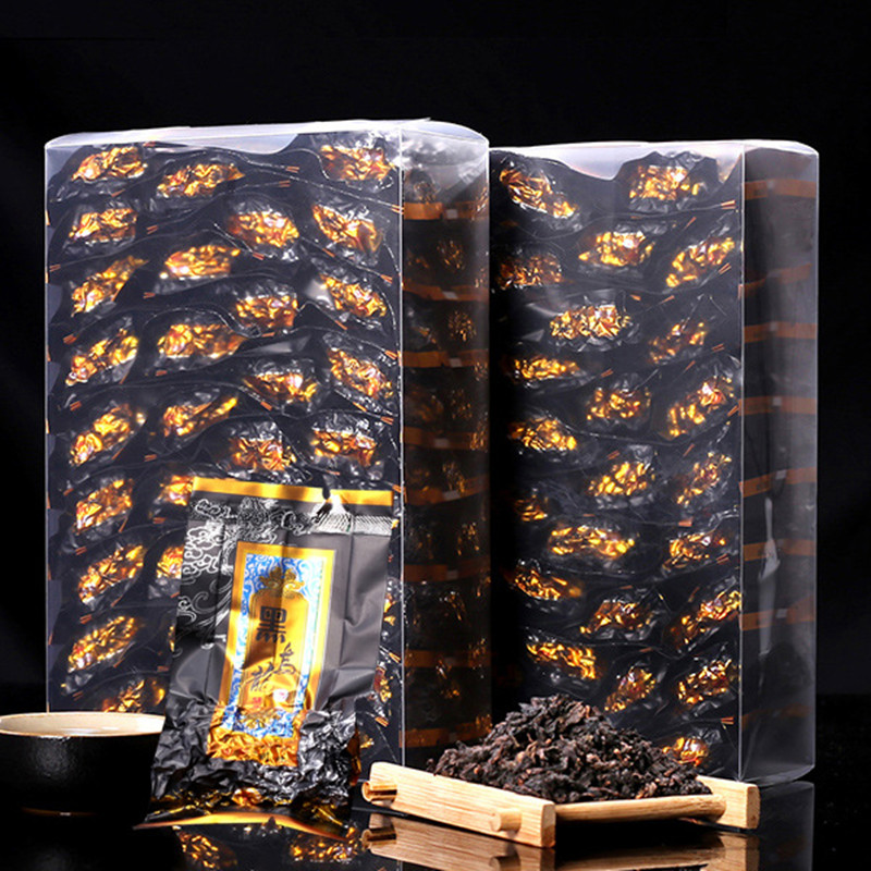 Chinese Anxi Black Oolong Tea Chinese Oolong Tea Bubble Black Tea Oolong Cha Health Remove Oil Slimming Tea 250g/One Box