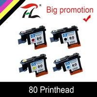 HTL 1 set C4820A C4821A C4822A C4823A 프린트 헤드 HP 80 Designjet 1000 1050c 1055 잉크 카트리지 프린트 헤드 hp 80 카트리지 용