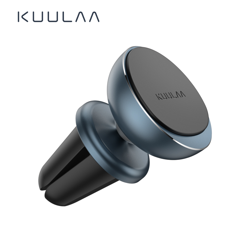 KUULAA Magnetic Car Phone Holder Air Vent Metal Magnet Phone Car Holder 360° Rotation Universal Mobile Phone Stand Mount In Car