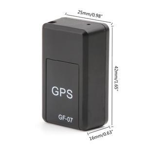 Image 4 - GF 07 mini gps tracker dispositivo de rastreamento em tempo real localizador magnético realçado localizador