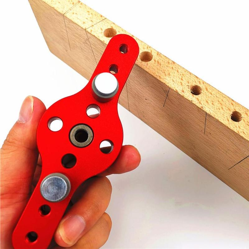6/8/10mm Wood Dowelling Drill Vertical Pocket Hole Jig Hole Puncher Locator