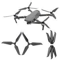 4 قطعة ألياف الكربون 8743F المروحة ل DJI Mavic 2 برو التكبير ملحقات طائرة بدون طيار للطي شفرة الدعائم ل Mavic 2 استبدال الدعامة