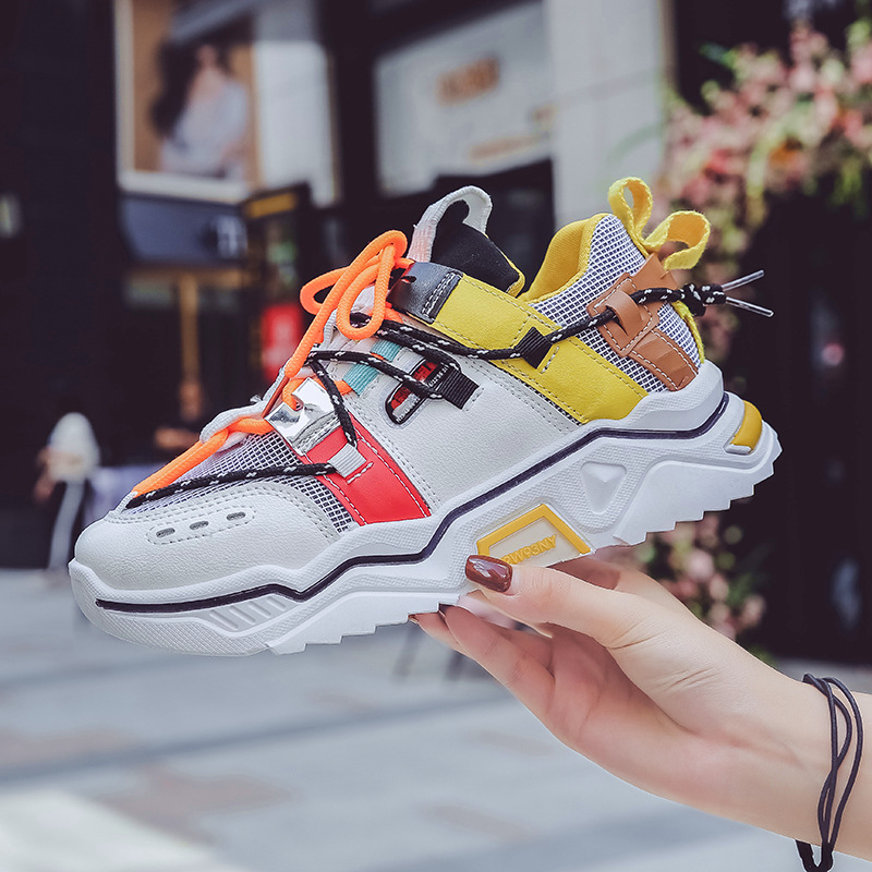 Women Sneakers Women Shoes Ulzzang Casual Shoes Platform Chunky Sneakers Women Tenis Feminino Trainers Dad Shoes Plus Size 42
