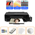 Vilaxh DTF Printer A3 For l1800 epson Direct Transfer Any Material Garments With PET Film DTF Ink DTF Powder