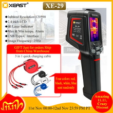 XEAST Water Leakage Detection of Infrared Thermal Imaging Camera  XE 29  high precision   resolution floor heating leak detector