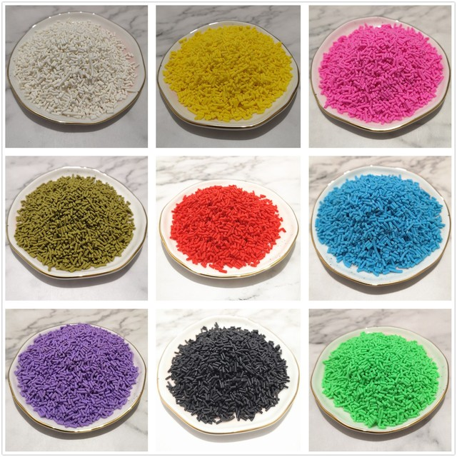 100 g/sac Slime Multi couleurs argile arrose remplissage jouets accessoires bonbons faux gâteau Dessert boue décoration