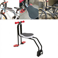 Bicycle Foldable Child Bicycle Seat Kids Saddle Bicycle Bike Front Mount Children Safety Front Seat Saddle Carrier Accessories#5
