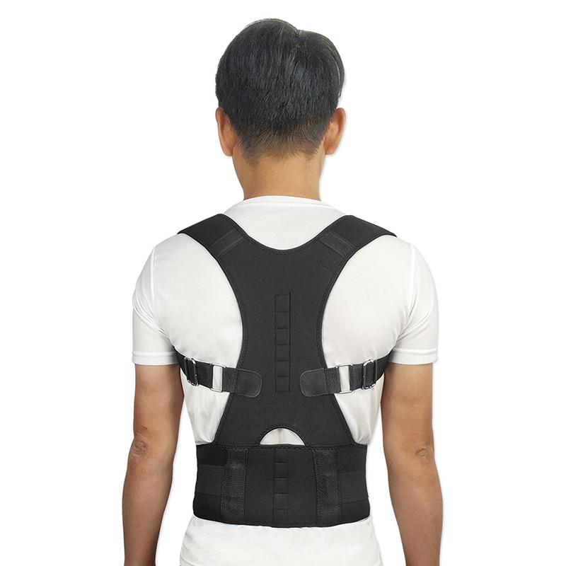 Posture-Corrector for Men Women S-2XL ZK40 Corset Back-Belt Lumbar-Support Adjustable