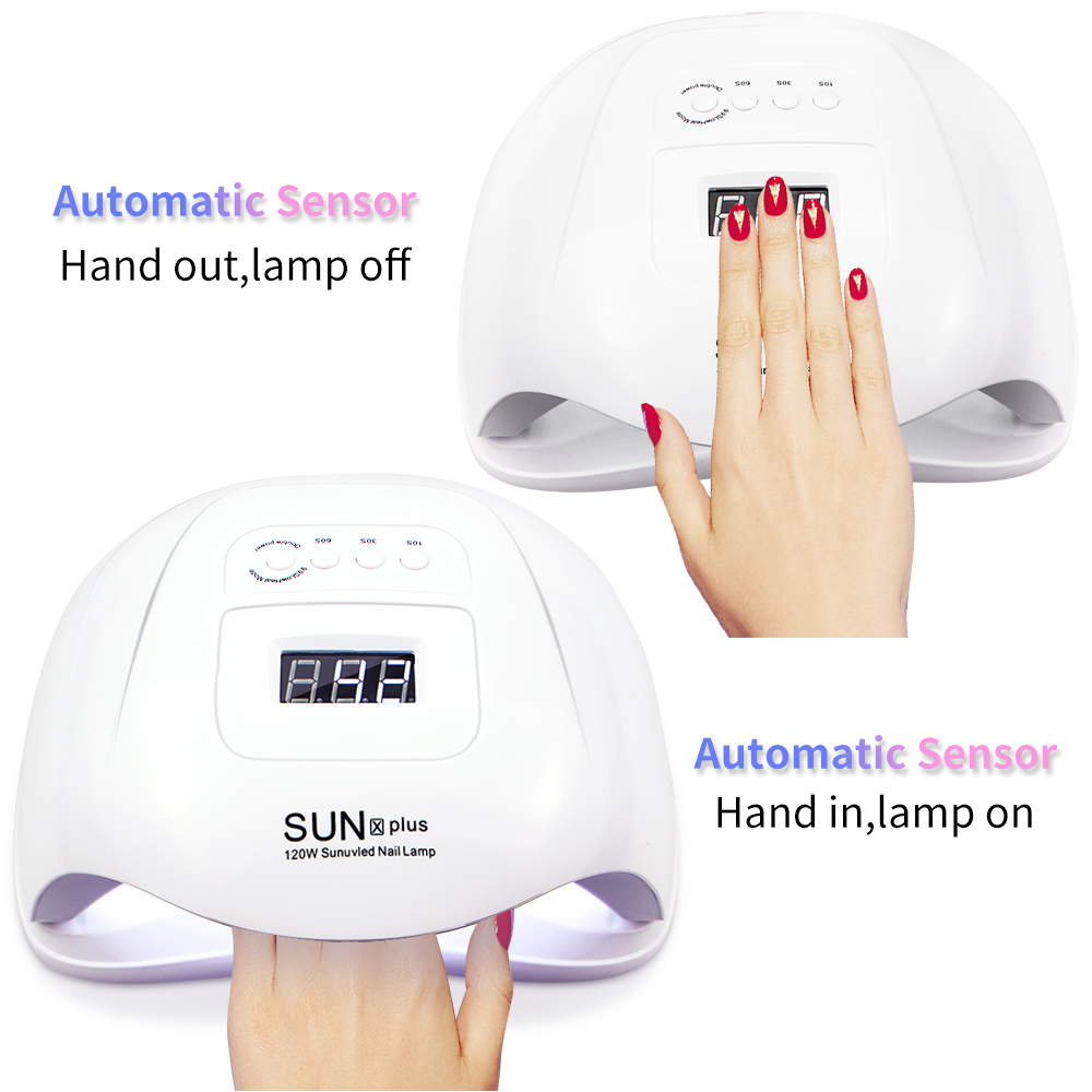 120W SUNX PLUS UV LED Lamp Nail Dryer