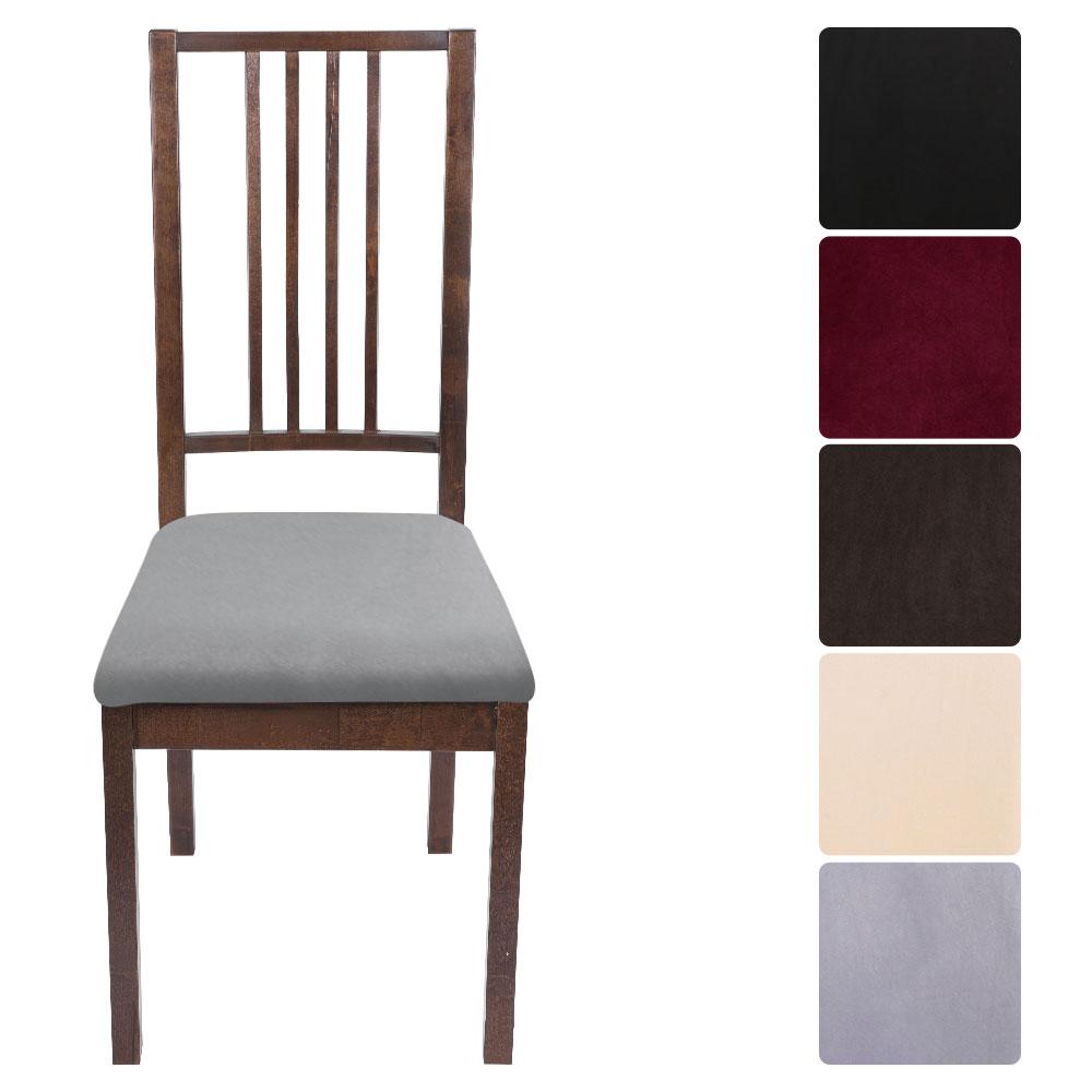 Новый 1/2/4/6 шт Бархатный жаккардовый обеденный чехол для кресла спандекс эластичный чехол для кресла растягивающийся Рождественский Чехол для стула|Чехлы на стулья|   | АлиЭкспресс
