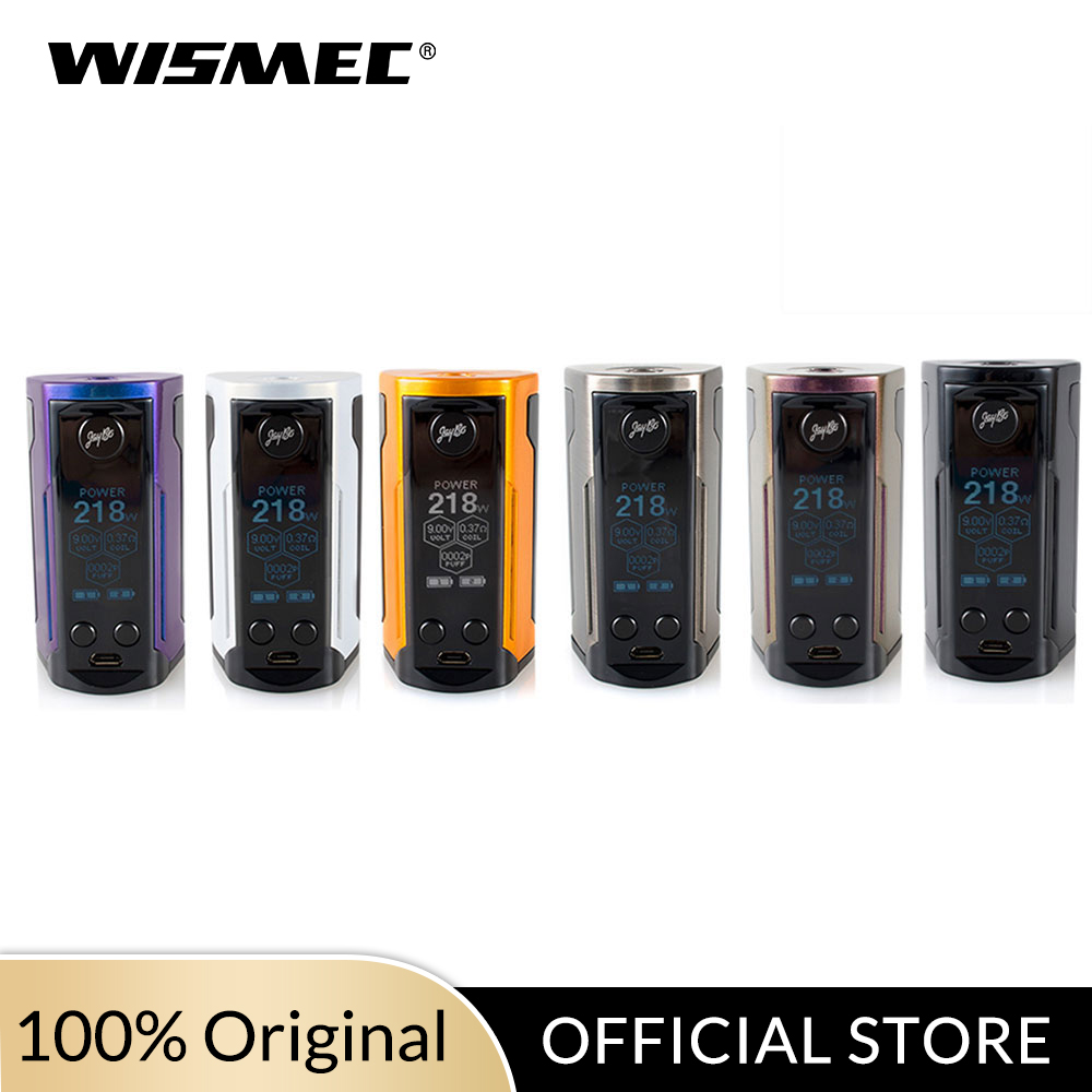 Original Wismec Reuleaux RX GEN3 Dual Mod Box 230W With GNOME King Tank 5.8ml Electronic Cigarette Vape Mod/kit