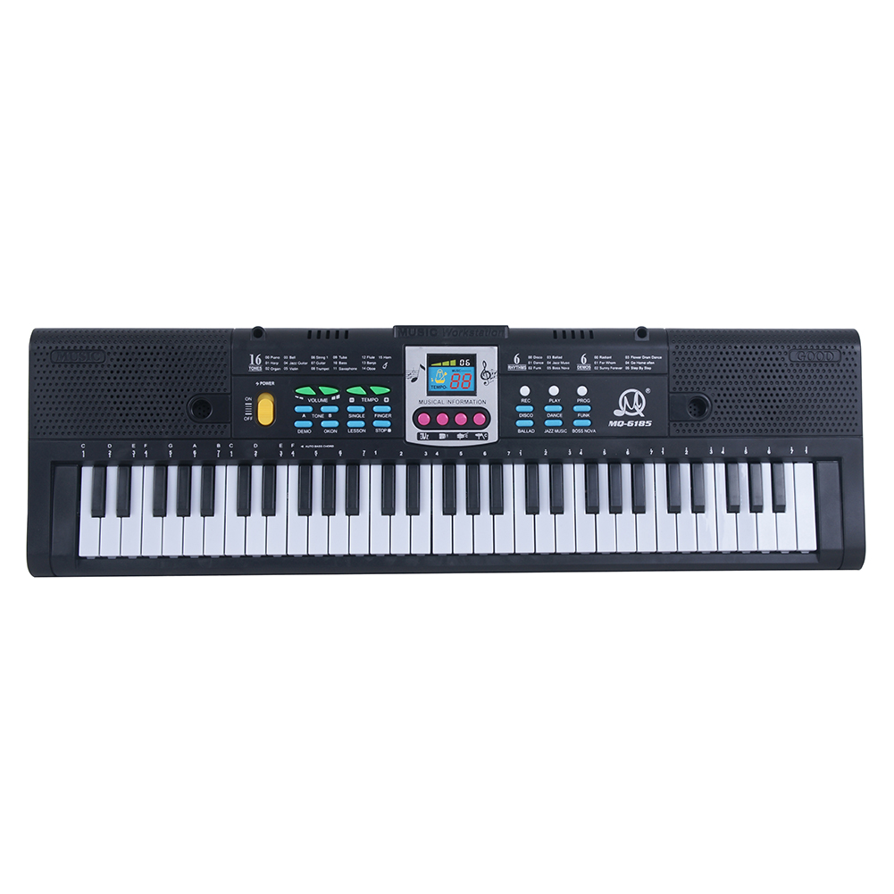 61 Keys Electronic Keyboard Digital Piano Kids Musical Toys with Microphone