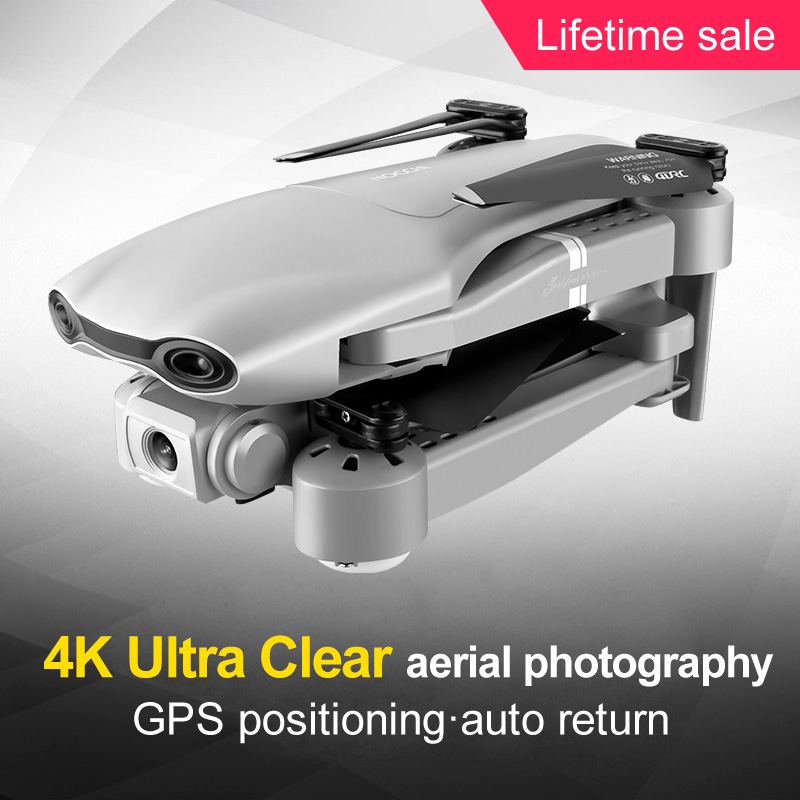 Drone GPS 4K 5G WiFi video en vivo FPV 4K/1080P HD ancho ángulo de cámara plegable altitud Durable RC Drone - 5