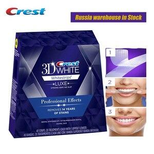 Image 1 - Bandes de blanchiment des dents en 3D, effet professionnel de Luxe, hygiène buccale originale, cadeau sain et sûr