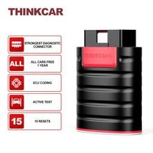 THINKCAR herramientas de diagnóstico ThinkDiag para todos los coches, programador con Bluetooth, lector Obd2, escáner automático, 15 Resets de codificación ECU, actualización gratuita