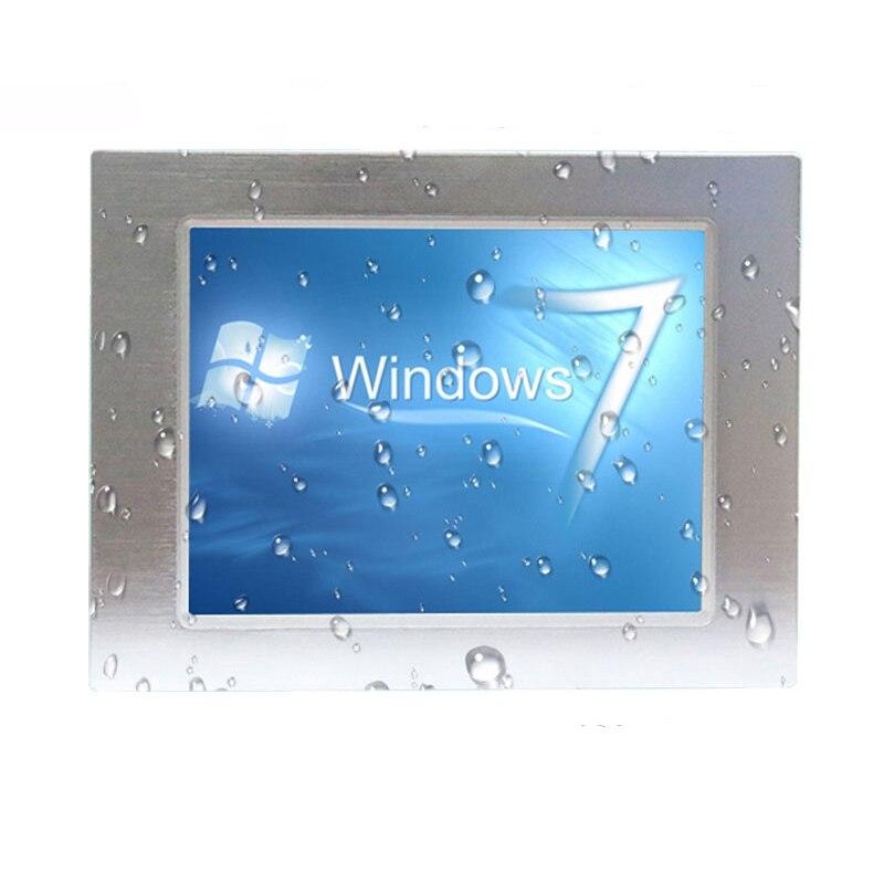 Image 5 - Конкурентоспособная цена безвентиляторный 10,1 дюймов IP65 Водонепроницаемый все в одном сенсорный экран промышленная панель ПК-in Промышленный компьютер и аксессуары from Компьютер и офис
