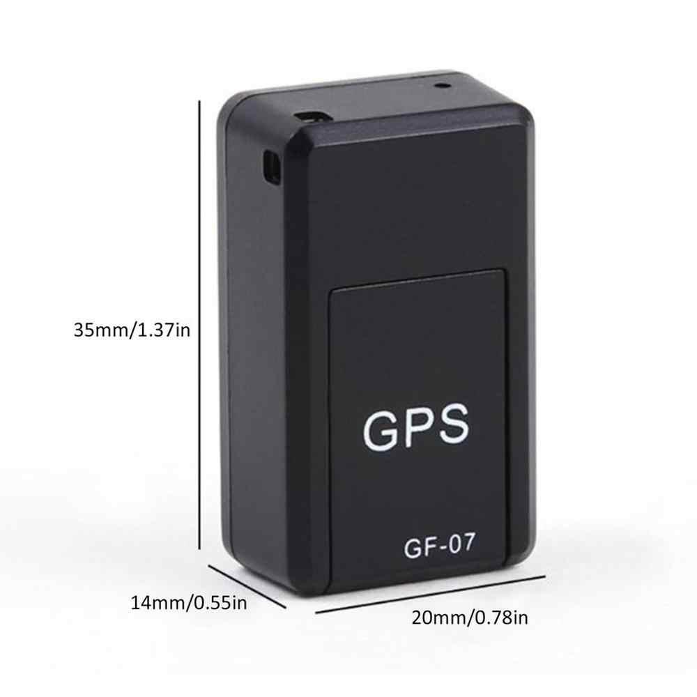 GF07 manyetik Mini araba takip cihazı GPS gerçek zamanlı izleme bulucu cihazı manyetik GPS Tracker gerçek zamanlı araç bulucu sıcak satış