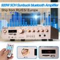 Bluetooth-усилитель 920 Вт, 220 В, 5 каналов, Hi-Fi, стерео, AV, объемный усилитель, FM, караоке, кинотеатр, домашний кинотеатр, усилители