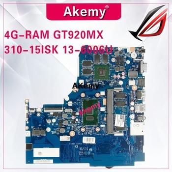 NM-A751 Laptop motherboard for Lenovo 310-15ISK original mainboard 4G-RAM I3-6006U/6100U GT920MX510-15ISK 510-15ISK