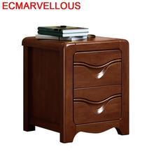 Legno Veladores Schlafzimmer armario europeo Vintage De madera Mueble De Dormitorio mesita De noche