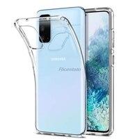 Funda de TPU transparente para móvil, funda protectora suave para Samsung Galaxy S20 Plus S20 Ultra A01 A21 A31 A51 A71 A81 A91 A10 A30 A50 A70