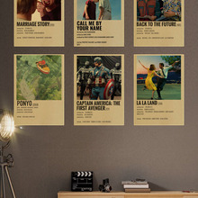 Poster TV Painting-Picture Kraft-Paper Wall-Decor Room-Bar Classic Movie Cafe Modern Art