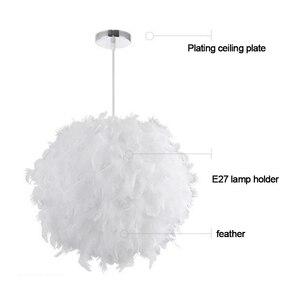 Image 5 - 220V Moderne Hanger Plafond Lamp Veer Plafond Droplight Slaapkamer Studeerkamer Decoratie Creatieve Kroonluchter Opknoping Lamp