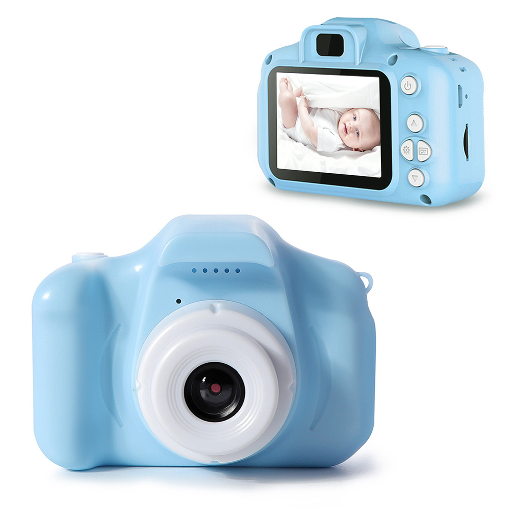 Kids Camera Waterproof 1080P HD Screen Camera Video Toy 8 Million Pixel Children's Cartoon Cute Camera Outdoor Photography Gift