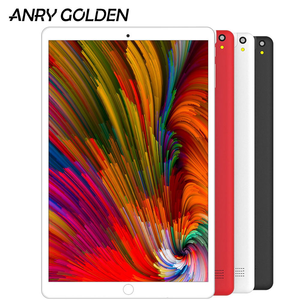 ANRY A1006 3G Tablet Android 7.0 MTK6580 10.1 Inch 1280 X 800 IPS Quad Core 1GB RAM 16GB ROM Dual Camera Wifi 10 Tablets