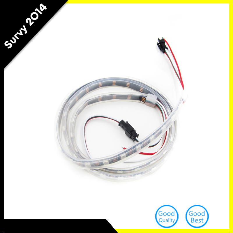 Super Bright WS2812B 5050 RGB LED Flexible Strip 1M 60LED Individual Addressable 5V NEW RGB LED Strip Diy Electronics