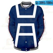 Мужская куртка форма мой герой академии для костюмированной