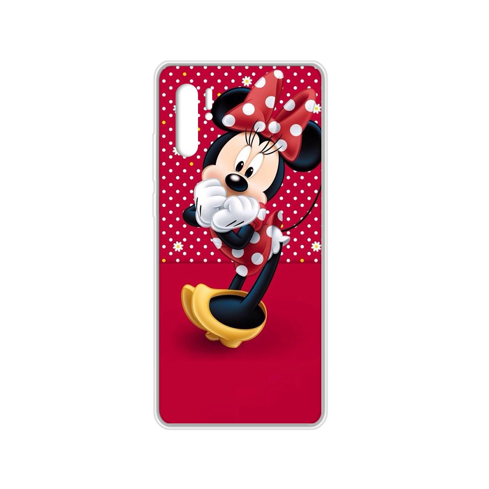 Cartoon Mickey Lovely Mouse Cover Transparent Phone Case For HUAWEI Nove 5T P 8 9 10 P20 P30 P40 P Pro Smart 2017 2019 Z Lite