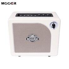 MOOER HORNET amplificador de guitarra de 9 amperios, dispositivo de sonido para amplificador de guitarra, salida de auriculares, altavoz pequeño, 15W, blanco