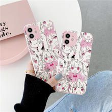 Fashion Cute Anime Comic Girl Case For OPPO A31 A9 A5 2020 R17 A3S A5S A52 A91 A92S Realme XT Reno 5 Pro 2Z K1 K3 K5 A83 F11 F9