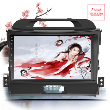 2Din Car Android 10 Radio multimedia player for KIA sportage 2010 2011 2012 2013 2014 2015 2 Din autoradio video GPS Navi Player image
