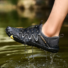 цены Five Fingers Swimming Shoes for Men Quick-drying Summer Water Shoes Breathable Outdoor Wading Shoes Non-slip Upstream Shoes New