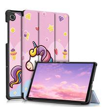 Ультратонкий Магнитный чехол для планшета Lenovo Tab M8 M10 FHD Plus 2nd Gen TB-X306X X606F X505F X605F 8505F