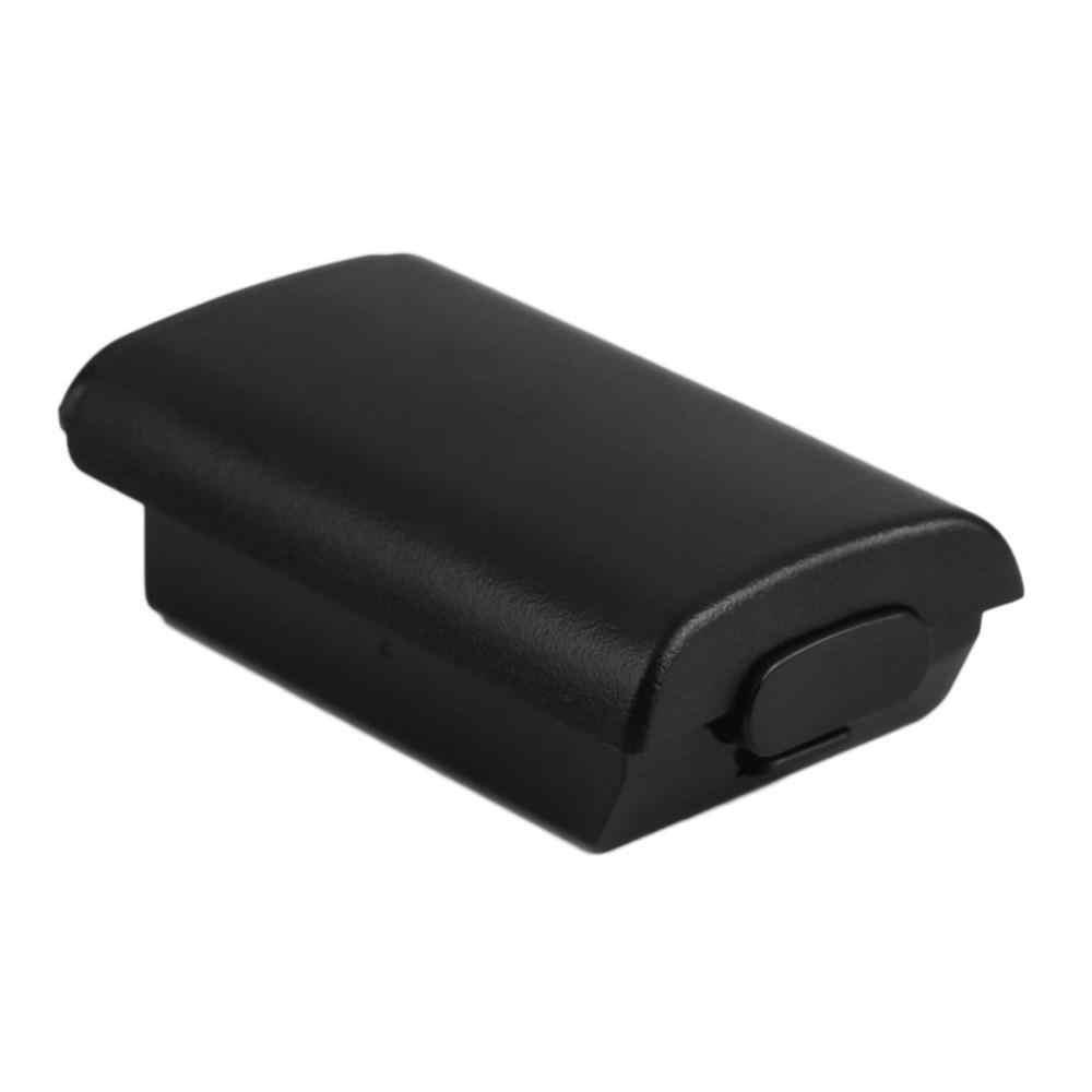 Bateria uniwersalna obudowa etui ochronne zestaw do konsoli Xbox 360 kontroler bezprzewodowy wysokiej jakości czarna obudowa baterii