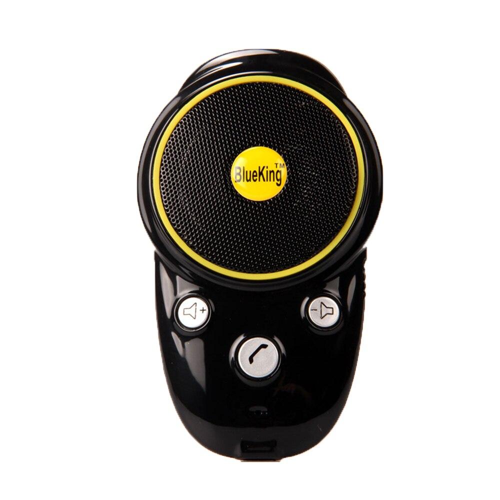 Handsfree Bluetooth Car Kit Sun visor Speaker Auto Wireless Speakerphone Car Kit for Phone Hands Free 5
