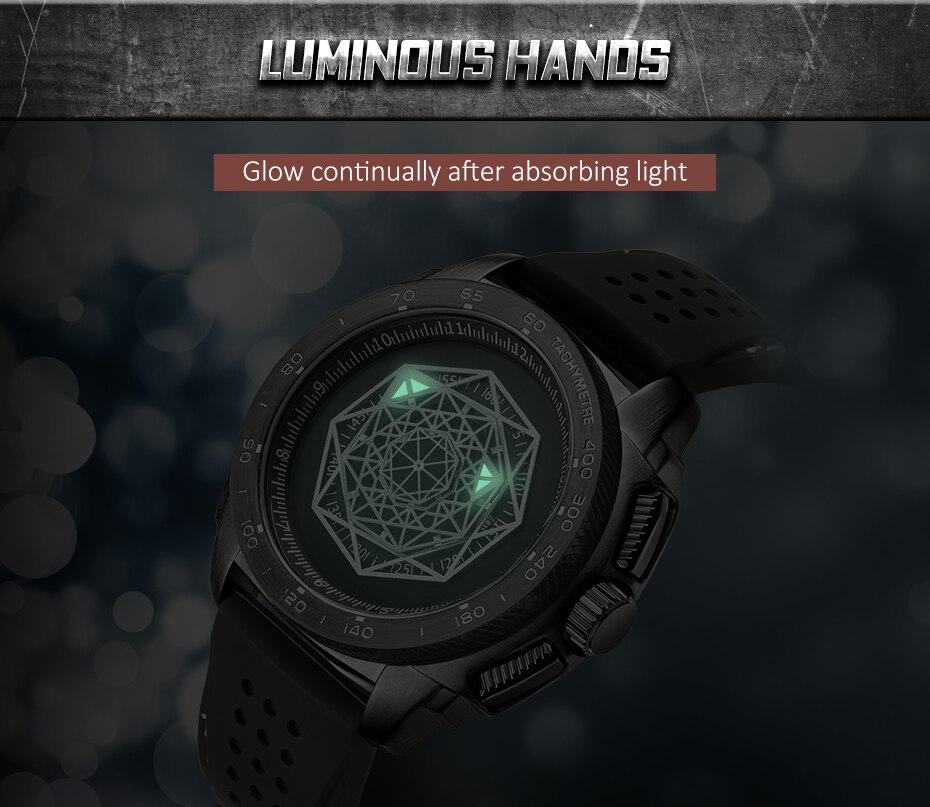 aço inoxidável pulseira silicone movimento quartzo relógio