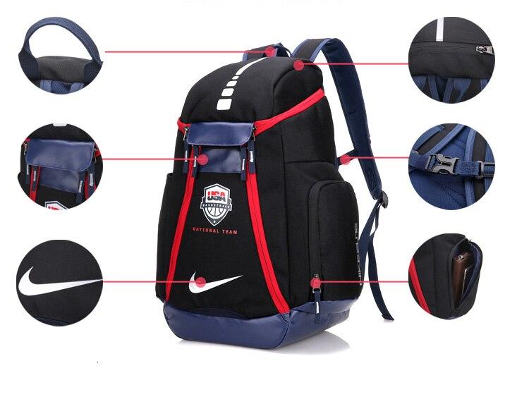 Nike Sports formation sac à dos grande capacité sacs de plein air Ba5555-036-325-431 - 4